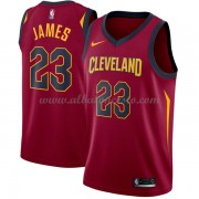 Camisetas Baloncesto NBA Cleveland Cavaliers 2018  LeBron James 23# Icon Edition..