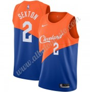 Camisetas Baloncesto NBA Cleveland Cavaliers 2019-20 Collin Sexton 2# Azul City Edition Swingman..