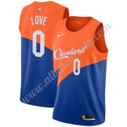 Camisetas Baloncesto NBA Cleveland Cavaliers 2019-20 Kevin Love 0# Azul City Edition Swingman..