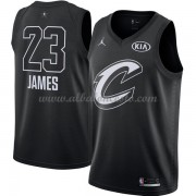 Cleveland Cavaliers LeBron James 23# Black 2018 All Star Game Swingman Basketball Jersey..