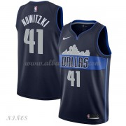 Camisetas Baloncesto Niños Dallas Mavericks 2018 Dirk Nowitzki 41# Statement Edition..