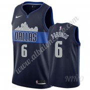 Camisetas NBA Niños Dallas Mavericks 2019-20 Kristaps Porzingis 6# Armada Statement Edition Swingman..