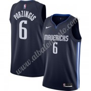 Camisetas Baloncesto NBA Dallas Mavericks 2019-20 Kristaps Porzingis 6# Armada Finished Statement Ed..