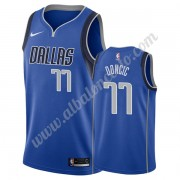Camisetas Baloncesto NBA Dallas Mavericks 2019-20 Luka Doncic 77# Azul Icon Edition Swingman..