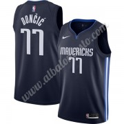 Camisetas Baloncesto NBA Dallas Mavericks 2019-20 Luka Doncic 77# Armada Finished Statement Edition ..