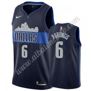 Camisetas Baloncesto NBA Dallas Mavericks 2019-20 Kristaps Porzingis 6# Armada Statement Edition Swi..