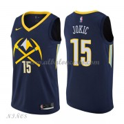 Camisetas Baloncesto Niños Denver Nuggets 2018 Nikola Jokic 15# City Edition..