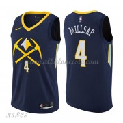 Camisetas Baloncesto Niños Denver Nuggets 2018 Paul Millsap 4# City Edition..