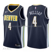 Camisetas Baloncesto Niños Denver Nuggets 2018 Paul Millsap 4# Icon Edition..