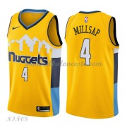 Camisetas Baloncesto Niños Denver Nuggets 2018 Paul Millsap 4# Statement Edition..