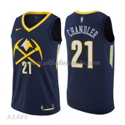 Camisetas Baloncesto Niños Denver Nuggets 2018 Wilson Chandler 21# City Edition..