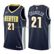Camisetas Baloncesto Niños Denver Nuggets 2018 Wilson Chandler 21# Icon Edition..
