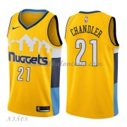 Camisetas Baloncesto Niños Denver Nuggets 2018 Wilson Chandler 21# Statement Edition..
