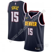 Camisetas NBA Niños Denver Nuggets 2019-20 Nikola Jokic 15# Armada Icon Edition Swingman..