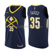 Camisetas Baloncesto NBA Denver Nuggets 2018  Kenneth Faried 35# City Edition..