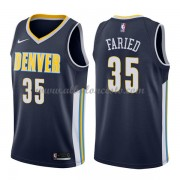 Camisetas Baloncesto NBA Denver Nuggets 2018  Kenneth Faried 35# Icon Edition..