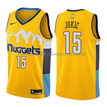 Camisetas Baloncesto NBA Denver Nuggets 2018  Nikola Jokic 15# Statement Edition