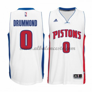 Camisetas Baloncesto NBA Detroit Pistons 2015-16 Andre Drummond 0# Home