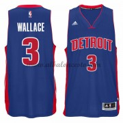 Camisetas Baloncesto NBA Detroit Pistons 2015-16 Ben Wallace 3# Road..