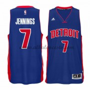 Camisetas Baloncesto NBA Detroit Pistons 2015-16 Brandon Jennings 7# Road..