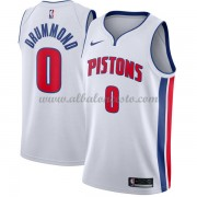 Camisetas Baloncesto NBA Detroit Pistons 2018  Andre Drummond 0# Association Edition..