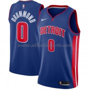 Camisetas Baloncesto NBA Detroit Pistons 2018  Andre Drummond 0# Icon Edition..