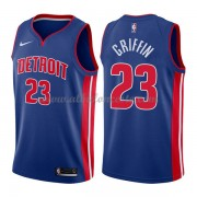 Camisetas Baloncesto NBA Detroit Pistons 2018  Blake Griffin 23# Icon Edition..