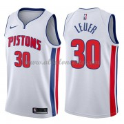 Camisetas Baloncesto NBA Detroit Pistons 2018  Jon Leuer 30# Association Edition..