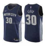 Camisetas Baloncesto NBA Detroit Pistons 2018  Jon Leuer 30# City Edition..