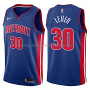 Camisetas Baloncesto NBA Detroit Pistons 2018  Jon Leuer 30# Icon Edition..