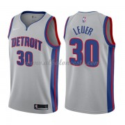 Camisetas Baloncesto NBA Detroit Pistons 2018  Jon Leuer 30# Statement Edition..