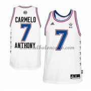 East All Star Game 2015 Carmelo Anthony 7# NBA Equipaciones Baloncesto..