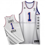 East All Star Game 2015 Chris Bosh 1# NBA Equipaciones Baloncesto..