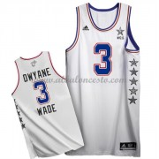 East All Star Game 2015 Dwyane Wade 3# NBA Equipaciones Baloncesto..