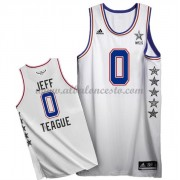 East All Star Game 2015 Jeff Teague 0# NBA Equipaciones Baloncesto..