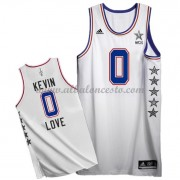 East All Star Game 2015 Kevin Love 0# NBA Equipaciones Baloncesto..
