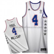 East All Star Game 2015 Paul Millsap 4# NBA Equipaciones Baloncesto..