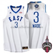 East All Star Game 2016 Dwyane Wade 3# NBA Equipaciones Baloncesto..
