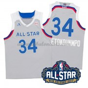 East All Star Game 2017 Giannis Antetokounmpo 34# NBA Equipaciones Baloncesto..