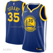 Camisetas Baloncesto Niños Golden State Warriors 2018 Kevin Durant 35# Icon Edition..