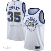 Camisetas Baloncesto Niños Golden State Warriors 2018 Kevin Durant 35# White Hardwood Classics..