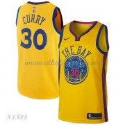 Camisetas Baloncesto Niños Golden State Warriors 2018 Stephen Curry 30# City Edition..