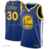 Camisetas Baloncesto Niños Golden State Warriors 2018 Stephen Curry 30# Icon Edition