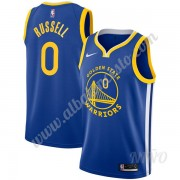 Camisetas NBA Niños Golden State Warriors 2019-20 D'Angelo Russell 0# Azul Icon Edition Swingman..