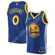 Camisetas NBA Niños Golden State Warriors 2019-20 DeMarcus Cousins 15# Azul Icon Edition Swingman..