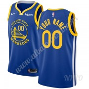 Camisetas NBA Niños Golden State Warriors 2019-20 Azul Icon Edition Swingman..