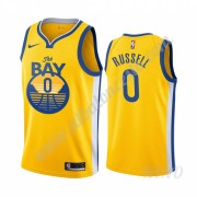 Camisetas NBA Niños Golden State Warriors 2019-20 D'Angelo Russell 0# Statement Edition Swingman..