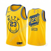 Camisetas NBA Niños Golden State Warriors 2019-20 Draymond Green 23# Amarillo Classics Edition Swing..