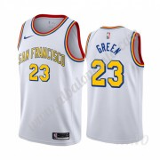 Camisetas NBA Niños Golden State Warriors 2019-20 Draymond Green 23# Blanco Classics Edition Swingma..