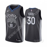 Camisetas NBA Niños Golden State Warriors 2019-20 Stephen Curry 30# Negro City Edition Swingman